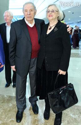 Петр Тодоровский с супругой