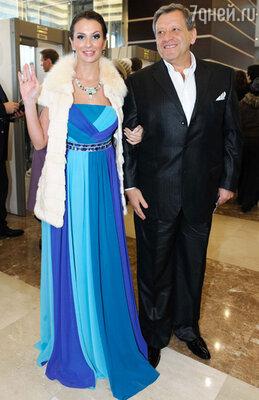 Борис Грачевский с супругой Анной