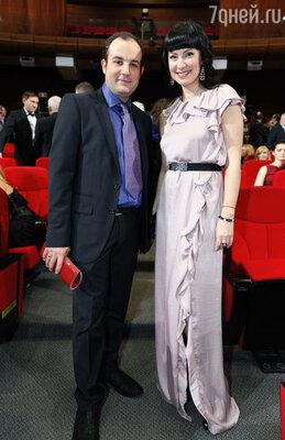 Нонна Гришаева с супругом