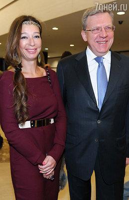Алексей Кудрин с женой Ириной