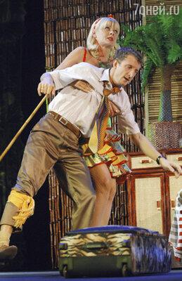 Спектакль «День палтуса» в театре Киноактера