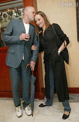 Алексей Котнев с женой Аминой