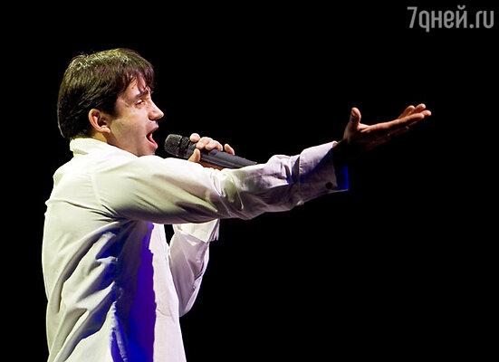 Актер впервые будет выступать на сцене в сопровождении собственной группы и камерного оркестра