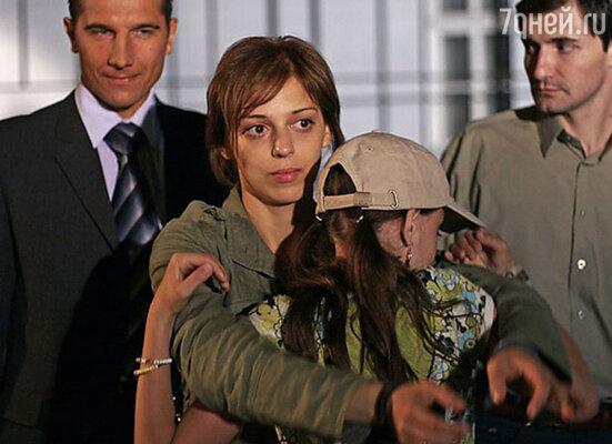 В роли Веры Степновой. Сериал «Атлантида», 2007 г.
