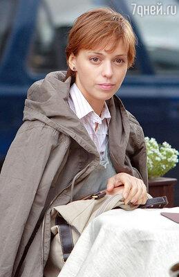 В роли Вероники. «М+Ж», 2009г.