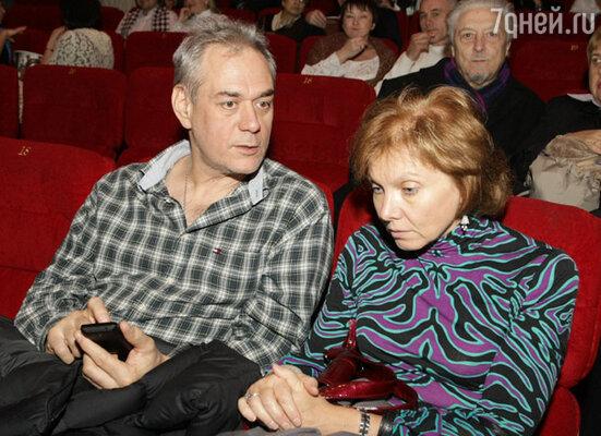 Сергей Доренко с супругой