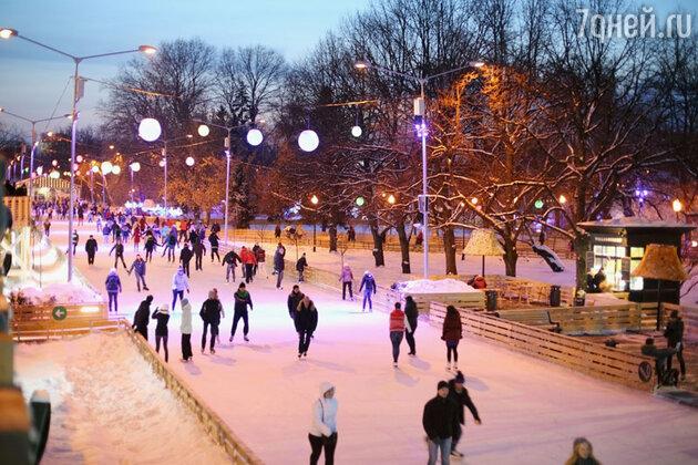 Каток в Парке культуры и отдыха им. М.Горького