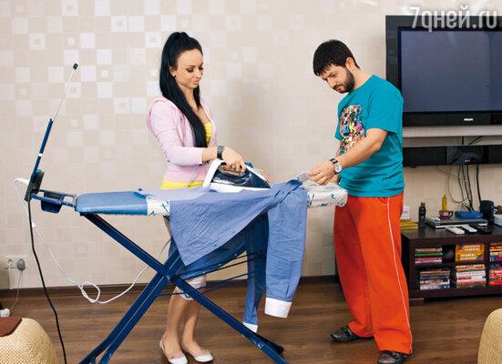 В квартире, которую супруги снимают, пока в новой, свежекупленной, идет ремонт