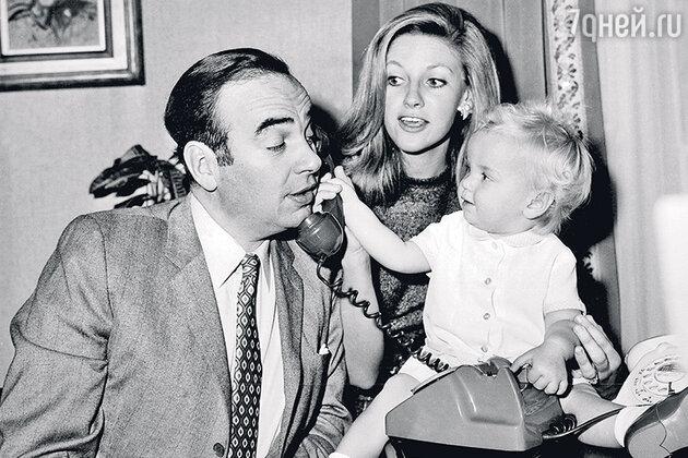 Руперт Мердок и Анна Мердок с дочерью Элизабет