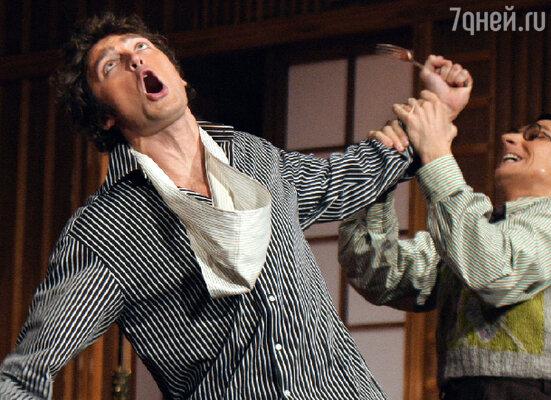Спектакль К.Людвига «Одолжите тенора!» в постановке Евгения Писарева в Театре им. Пушкина