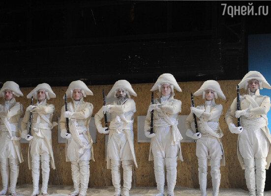 Спектакль «Киже» в МХТ