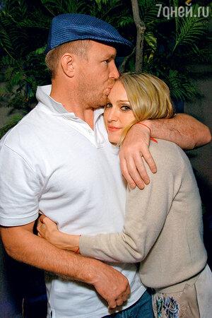 Гай Ричи и Мадонна. 2004 г.