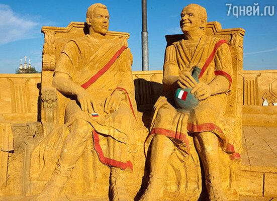 Выставка песчаных скульптур «Великая Римская империя»