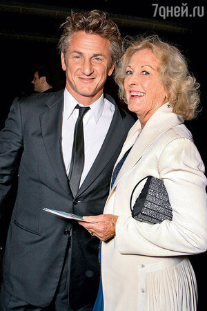 Шон Пенн со своей матерью Айлин