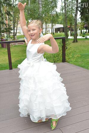 Дочь Ксении Анфиса