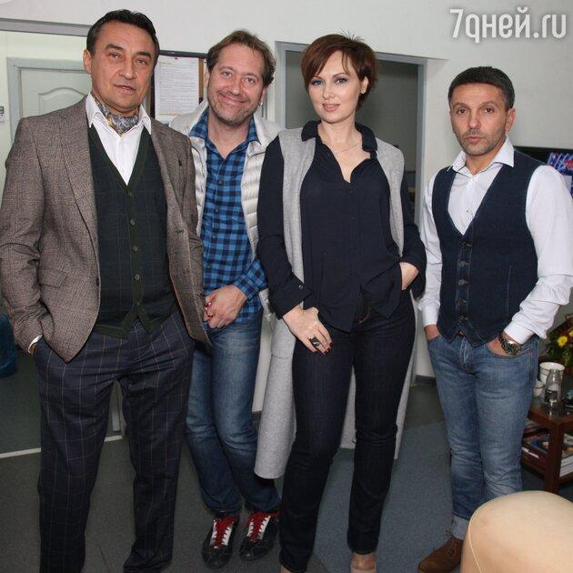 Камиль Ларин, Александр Демидов, Елена Ксенофонтова, Леонид Барац