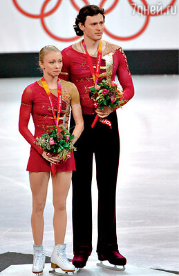 На Олимпиаде в Турине. 2006 г.