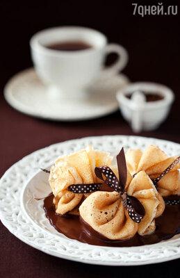 Шоколадные блины от Анны Семенович и Михаила Плотникова