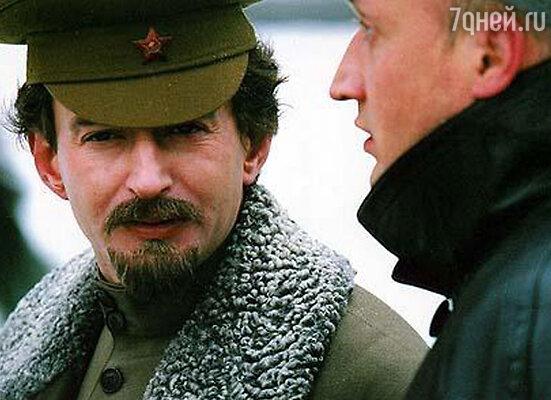 Константин Хабенский в роли Льва Троцкого. «Есенин», 2005 год