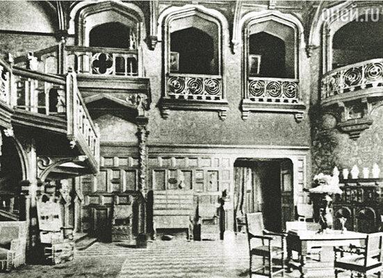 Интерьер Большого зала будущего Дома литераторов, 1912—1913 гг.
