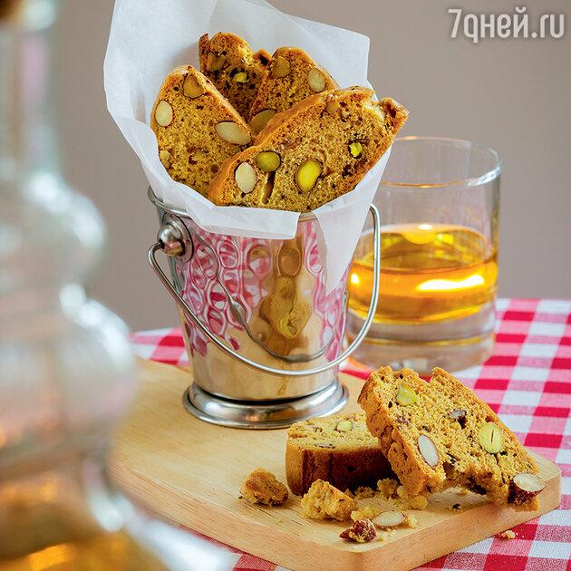 Ванильные печенья с орехами
