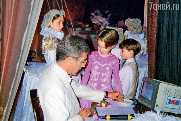 Юрий Николаев и Юля Малиновская