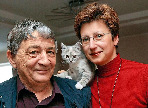 Элеонора Филина и Эдуард Успенский