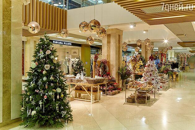 Один из самых роскошных новогодних базаров столицы