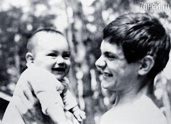 Никита Михалков с племянником