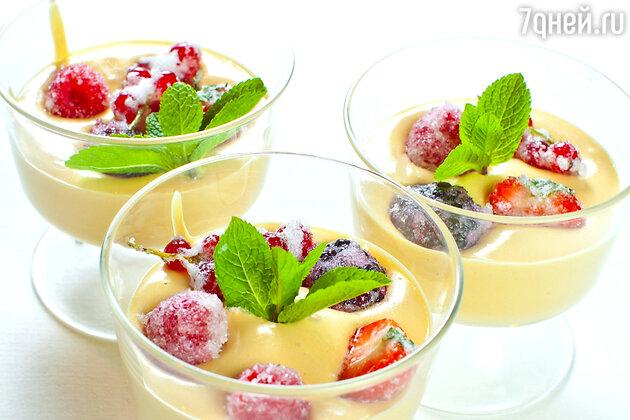 Десерт со свежими ягодами: рецепт от шеф повара Джузеппе Д'Анджело