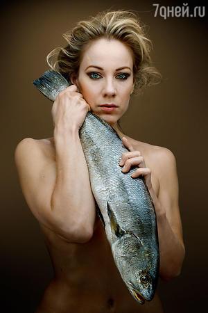Дженни Спарк приняла участие в акции организации Fishlove