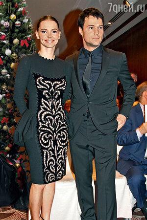 Елизавета Боярская с Данилой Козловским