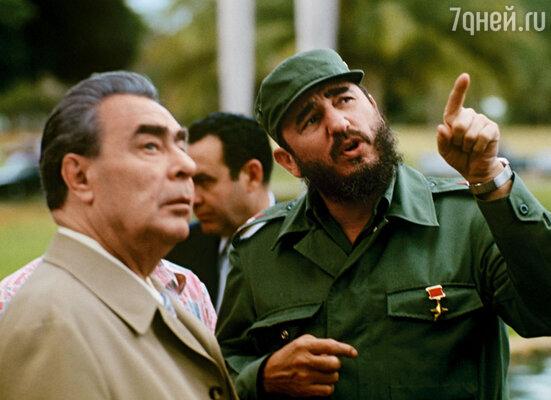С Брежневым я целовался на XVII съезде ВЛКСМ, с Фиделем Кастро — во время поездки на Кубу