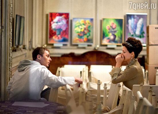 Создателям фильма «7 главных желаний» пришлось поволноваться: Игорь и Екатерина, бывшие втот момент в ссоре, пересекались в нескольких сценах
