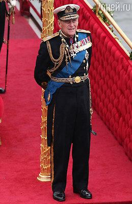Супруг королевы, герцог Эдинбургский Филипп