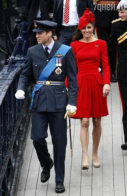 Принц Уильям с супругой Кейт