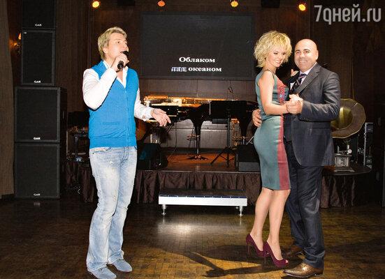 Под песню Баскова «Я буду руки твои целовать» Пригожин пригласил жену натанец