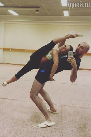 Евгений Папунаишвили и Лейла Груздева