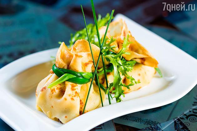Блинчики с семгой, тыквой и манго: оригинальные рецепты на Масленицу