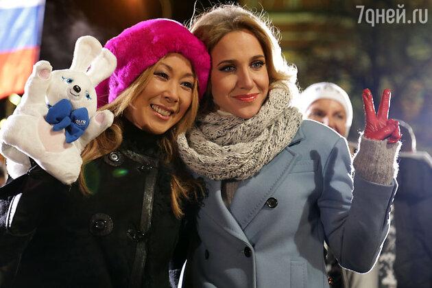 Анита Цой и Юлия Ковальчук