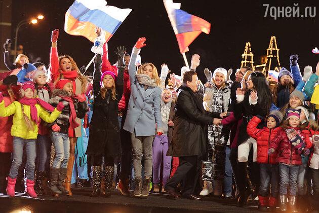 Ираклий Пирцхалава написал песню-обращение «Мы в вас верим», посвященную олимпийской сборной России