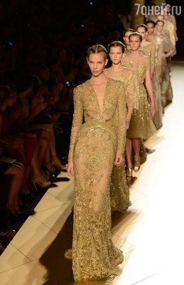 Платья «Elie Saab» особенно любят принцессы Ближнего Востока