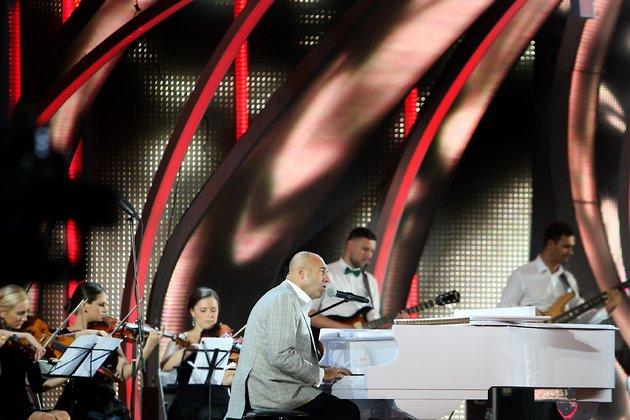 Игорь Крутой на конкурсе «Новая волна»