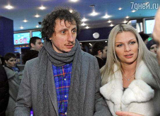 Вадим Галыгин с супругой Ольгой