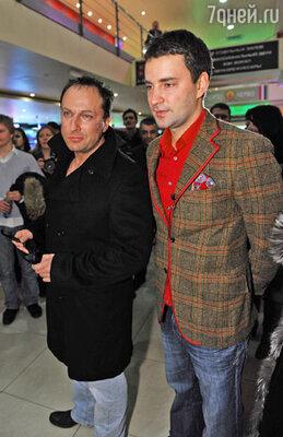 Дмитрий Нагиев и Леонид Закошанский