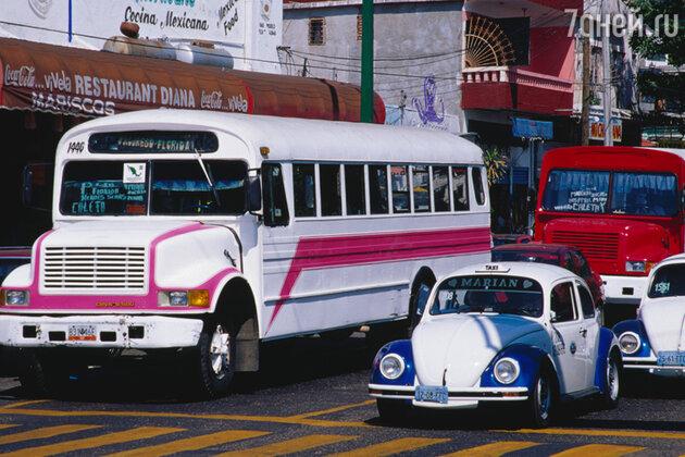 Такси в Акапулько, Мексика