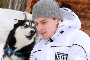 Иван Янковский принял участие в гонках на хасках