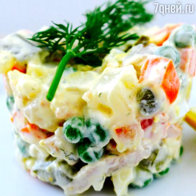 Холодный овощной салат: рецепт от шеф-повара Мишеля Ломбарди