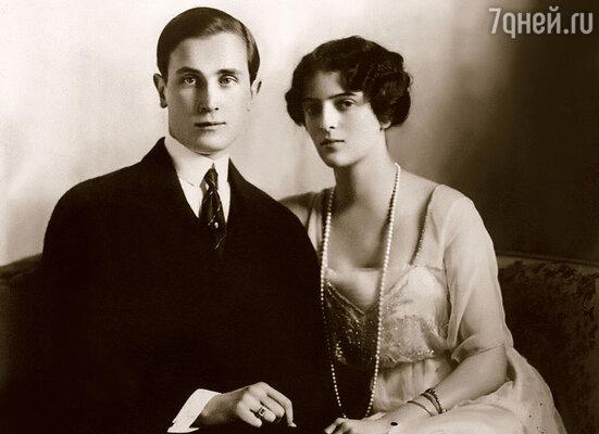 Организатор второго покушения князь Юсупов с женой Ириной