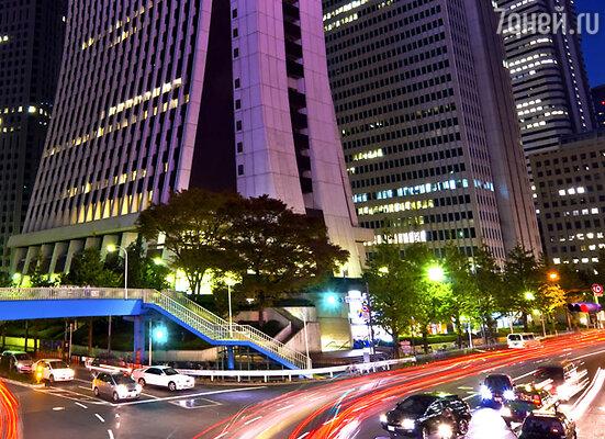 Токио сегодня: ну чем не город будущего?